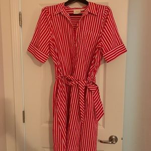 Anthro shirt dress